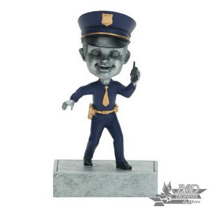 Policeman Bobblehead Trophy