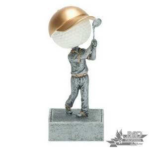 Golf Bobblehead Trophy