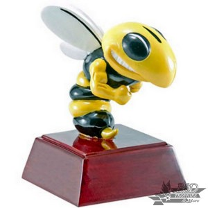 Hornet/Spelling Bee Resin Mascot Trophy