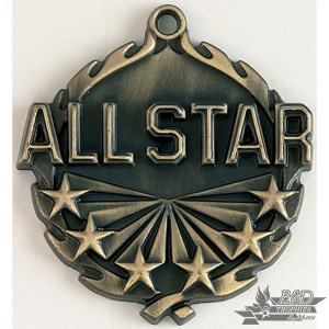 All-Star Wreath Medal
