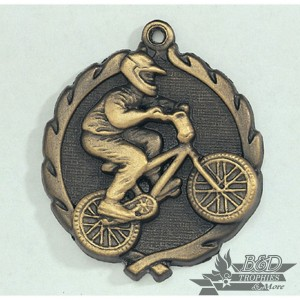 BMX Wreath Medal