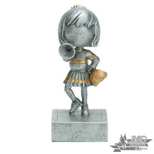 Cheerleader Bobblehead Trophy