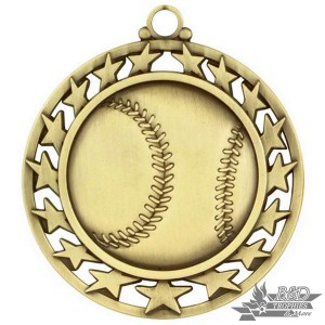 Baseball Super Star Medal