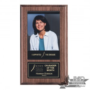 Magnetic Photo Plaque