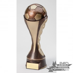 Soccer Sport Theme Sculpture Trophy
