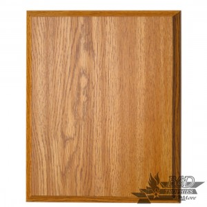 Light Oak Standard Plaque