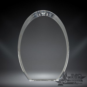 Oval Snap-In Acrylic Award