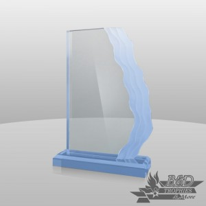 Wave-Length (Vertical) Acrylic Award