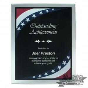 Stars and Stripes Acrylic Plaque