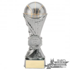 Basketball Silver Sculpture